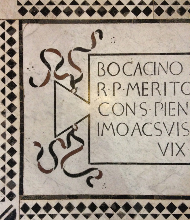 Ledger floor tomb, Basilica of Santa Croce, Florence