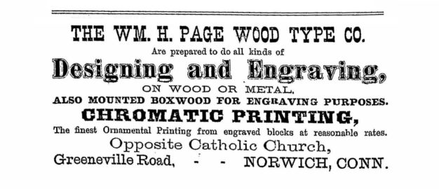... Page also became interested in the building of boilers and steam heaters. In 1876, Page incorporated a new business, the William H Page ...